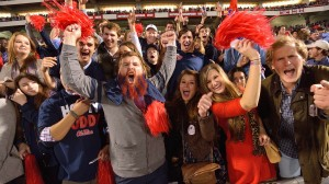 the University of Mississippi is participating in the inaugural College Colors Challenge and encouraging fan support across social media for the Rebels.