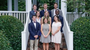 2015 Croft Scholars include (front , from left): Zac Herring, Abby Bruce, Alexis Smith; (middle, from left): Marguerite Marquez, Caroline Bass, Jarvis Benson, (top, from left to): Jacob Gambrell, John Chappell and Wes Colbert. Not Pictured: Delaney Holton. (Courtesy photo by Joe Worthem Photography).