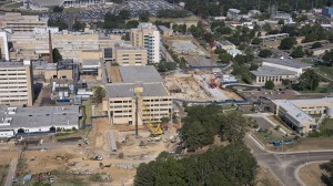 Construction projects are currently under way to expand the University of Mississippi Medical Center