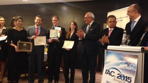 UM School of Law wins world championship at the 2015 Manfred Lachs Space Law Moot Court Competition in Jerusalem