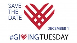 Giving Tuesday will take place on December 1.