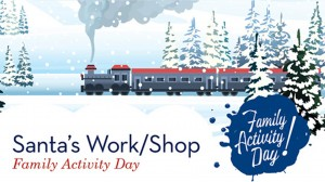 Santa's Work/Shop will take place on Saturday, December 5.