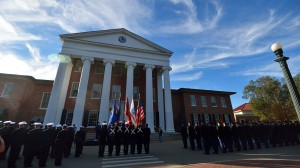 For the third straight year, the University of Mississippi is officially one of the nation's top schools, according to Military Advanced Education and Transition's 2016 Guide to Colleges and Universities.Photo by Thomas Graning/Ole Miss Communications