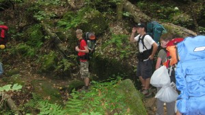 Boy Scouts with Troop 146 in Oxford go backpacking in the Sipsey Wilderness of northern Alabama.
