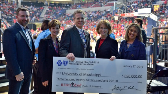 Blue Cross & Blue Shield of Mississippi Foundation Gives $326,000 to UM