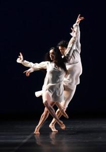 Alessandra Ferri and Herman Cornejo join Bruce Levingston in Trio ConcertDance. Photo by Roberto Ricci.