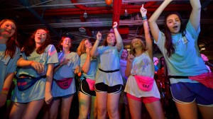This year, the RebelTHON dance marathon raised $112,603 this dollars for Blair E. Batson Children's Hospital.