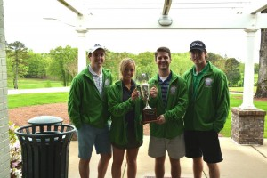 Last year, first-year professional pharmacy students took home a win at the School of Pharmacy Scholarship Golf Tournament.