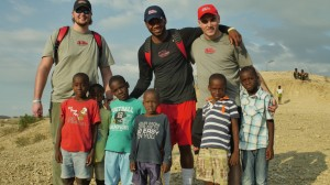 Members of the Ole Miss Football team use their spring break to serve those in need.