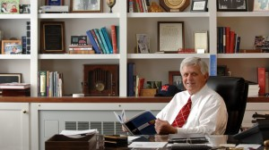 University of Mississippi Chancellor Emeritus Robert C. Khayat