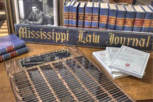 A record 28 Mississippi Law Journal student members published this spring.
