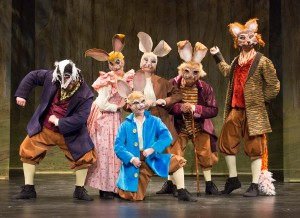 The family friendly performance Peter Rabbit Tales will be at the Gertrude C. Ford Center for the Performing Arts April 16 at 2 p.m.