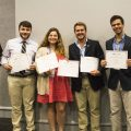 The SPJ Regional conference was held April 16 in New Orleans. Attendees pictured left to right are Jason Cain, SPJ chapter adviser and Daily Mississippian staff members Cameron Brooks, Lana Ferguson, Logan Kirkland, Jake Thrasher and Clara Turnage. Photo courtesy of the Meek School of Journalism and New Media.