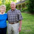 Linda and Chuck O'Bannon at home in Parsons, Tennessee.