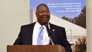Montgomery County Constable LC Smith was one of the keynote speakers during the University of Mississippi at Grenada's 2016 graduation celebration. He was also an honored guest as one of the university's Class of 2016 graduates.