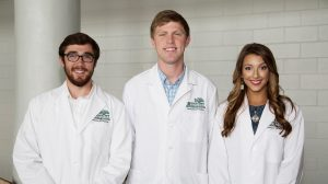 Cal Wilkerson, Kaleb Barnes, and Judi Beth McMillen have been selected to participate in the undergraduate portion of the Mississippi Rural Physicians Scholarship Program.