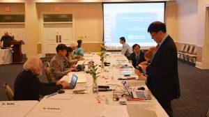 UM Hosts World Health Organization Working Group