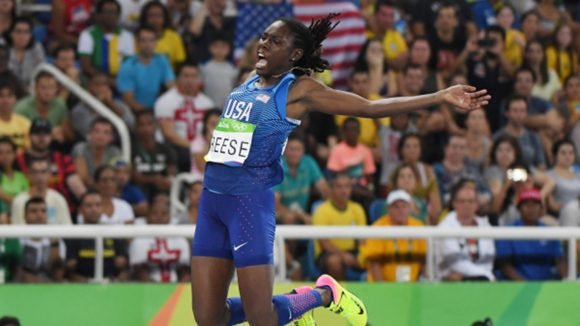 Brittney Reese Claims Silver in Olympic Long Jump
