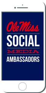 Join our team as an Ole Miss Social Media Ambassador