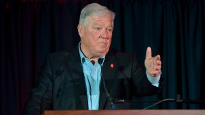 Former Gov. Haley Barbour remains one of the dominant figures on the national GOP scene. Photo by Thomas Graning/Ole Miss Communications