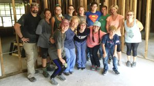 Ole Miss student and Oxford-University United Methodist Church Members visited Baton Rouge over Labor Day weekend to provide relief for flood victims.