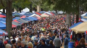 The University of Mississippi and Oxford have recently been recognized by several major publications for having the nation's most beautiful campus, the most unique tailgating experience and being among the nation's best college towns. Photo by Kevin Bain/Ole Miss Communications