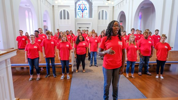 UM Choir Contributes to World Day of Peace