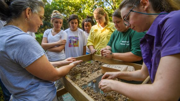 Anthropology Class Digs for Evidence of Slave Life