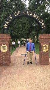 Sheffield is a senior Ole Miss student and will earn his bachelor's degree in May 2017.