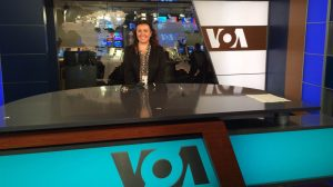 UM senior Linda Bardha, a computer science major from Tirana, Albania, spent her summer serving as an intern in Washington with the broadcasting organization Voice of America. VOA is funded by the U.S. government and works to supply accurate, balanced and comprehensive information to an international audience.