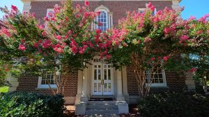 "The UM Department of English and its MFA in Creative Writing Program, housed in Bondurant Hall, has just been ranked in the ""Top 10 University for Aspiring Writers"" by CollegeMagazine.com. Photo by Robert Jordan/Ole Miss Communications"