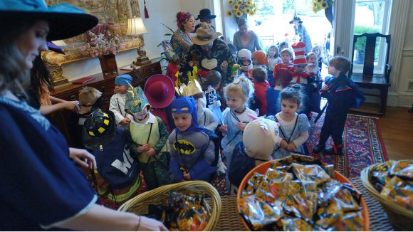 Willie Price Students to Trick-or-Treat on Campus