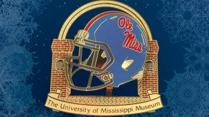 The UM Museum's 2016 Ole Miss Powder Blue Helmet keepsake is now available for purchase. Submitted Photo