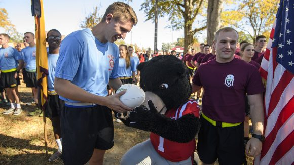ROTC Cadets Participate in 4th Annual Egg Bowl Run