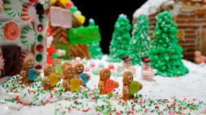 The UM Museum and the Gertrude C. Ford Center for the Performing Arts will host several upcoming holiday events including the Gingerbread Village and Santa's Workshop Family Activity Day. Photo by Robert Jordan/Ole Miss Communications