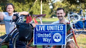 Charlie Wildman and Adam Vinson will ride their bikes from Nashville, Tennessee to Oxford, Mississippi over a six-day period to raise money for United Way. Submitted Photo