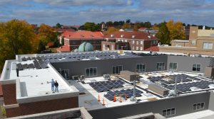University Offsets Electricity Use with Renewable Energy Certificates