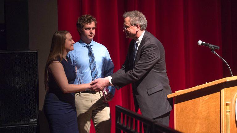 Sociology Major Receives Barksdale Awards