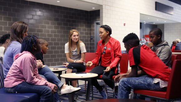 Saturday Collaborations Unlock Possibilities for Marks Students