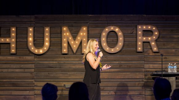 UM Alumna Takes Comedy on the Road