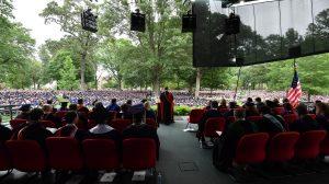 Jon Meacham Challenges UM Graduates to Change Nation and World
