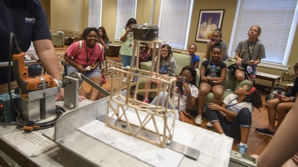 University to Provide STEM Experience for Young Women
