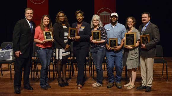 Seven Staff Members Receive Outstanding EEO Awards