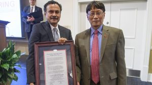 'Dr. Vish' Named Outstanding Engineering Faculty of the Year