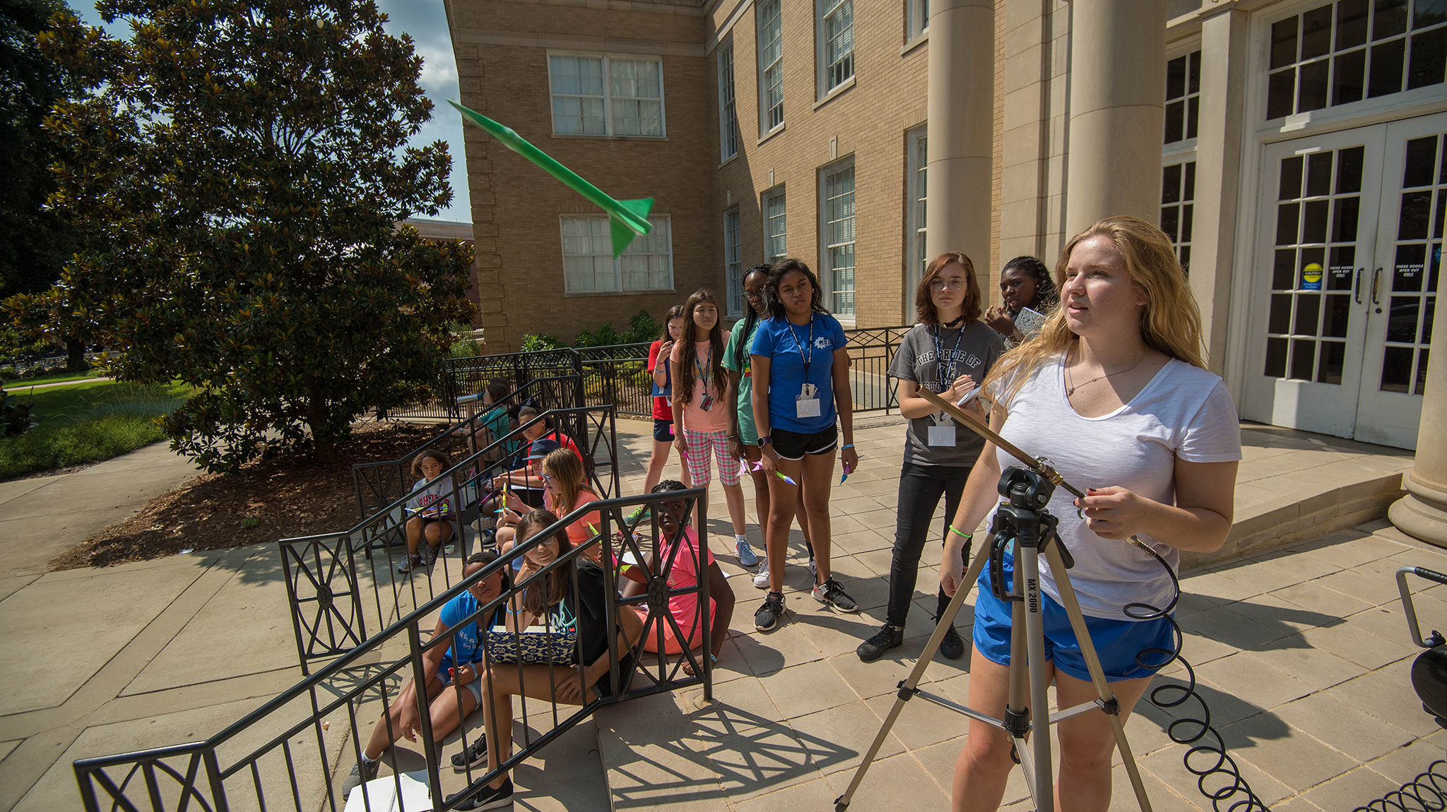 participants  universitys stem camp  girls rocks ole  news