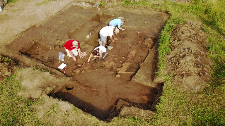 Archaeology Field School led by Maureen Meyers gets national attention