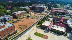 Several Construction Projects Progressing on Campus