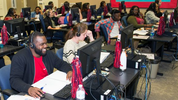 Student Callers Earn While They Learn