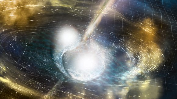 Scientists Detect Gravitational Waves Produced by Colliding Neutron Stars