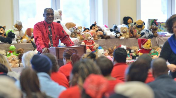 UM Community Called to Bless Books and Bears